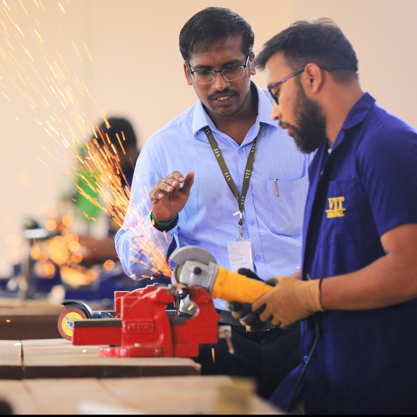 Mechanical Lab VIT Bhopal  - Best University in Central India -  3-scaled-e1581404578985