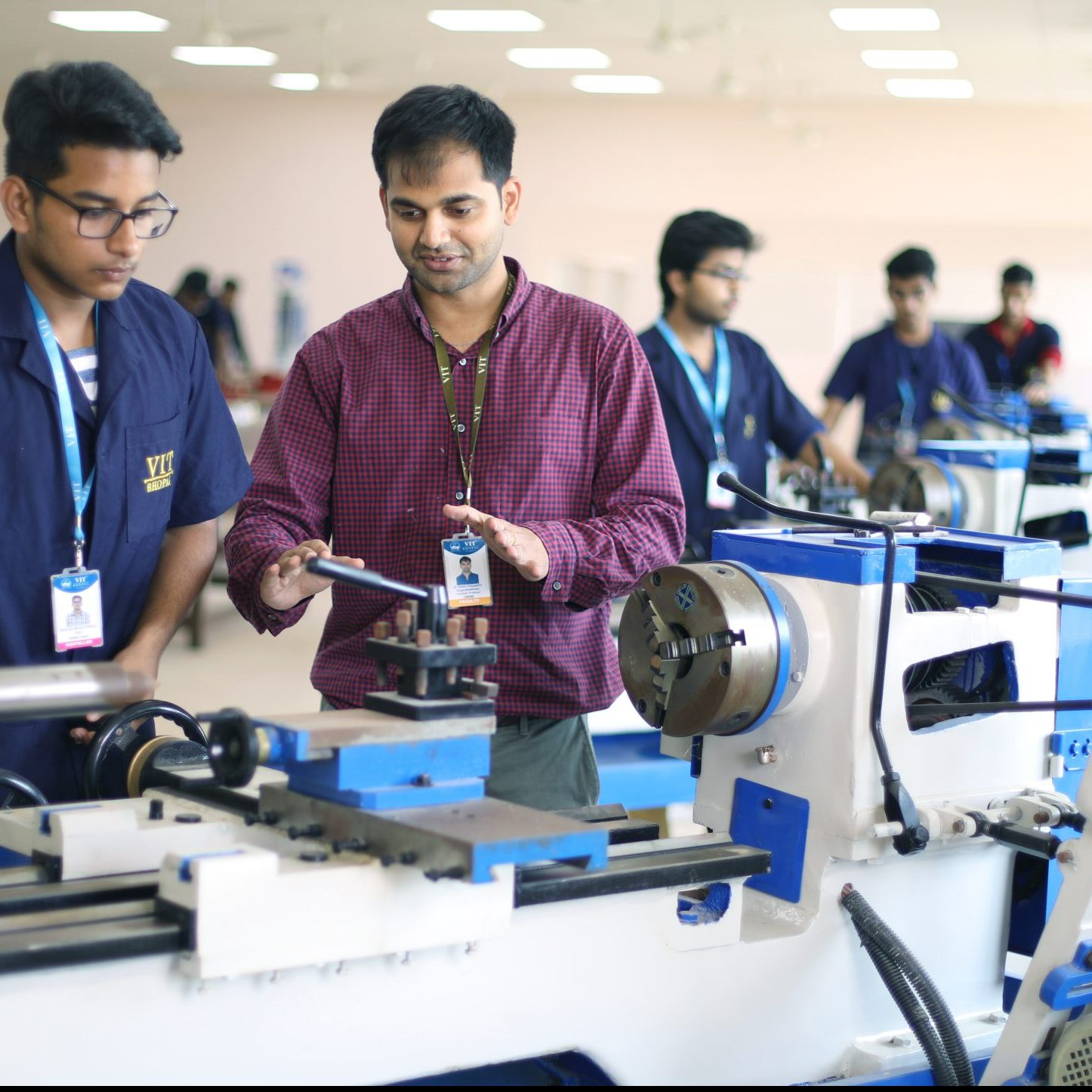 Mechanical lab VIT Bhopal  - Best University in Central India -  6-1-scaled-e1581404718766