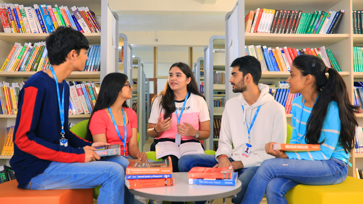 VIT Bhopal  - Best University in Central India -  Library-341