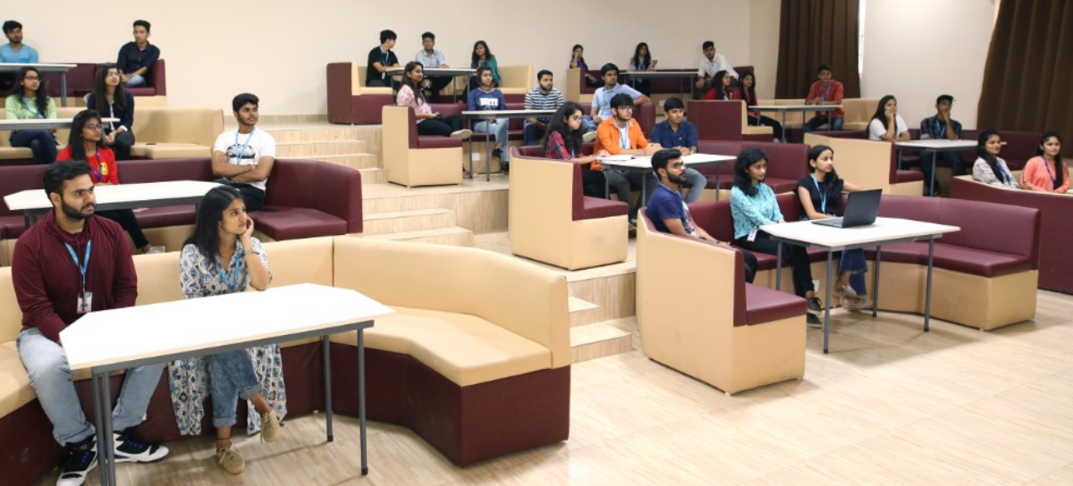 Classroom VIT Bhopal  - Best University in Central India -  catechbck