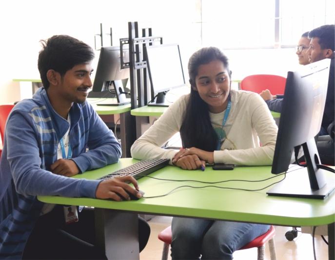 Computer Lab VIT Bhopal  - Best University in Central India -  cse2
