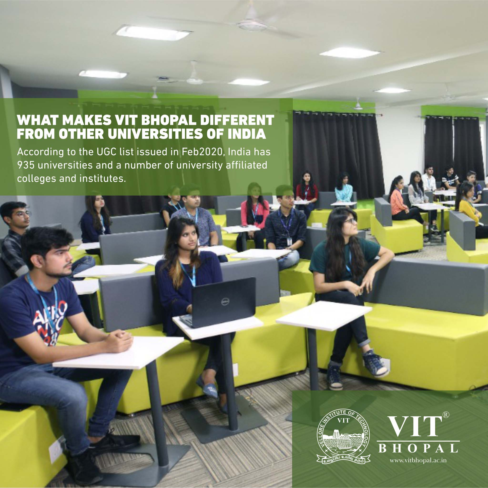 VIT Bhopal  - Best University in Central India -  FB-Creative1