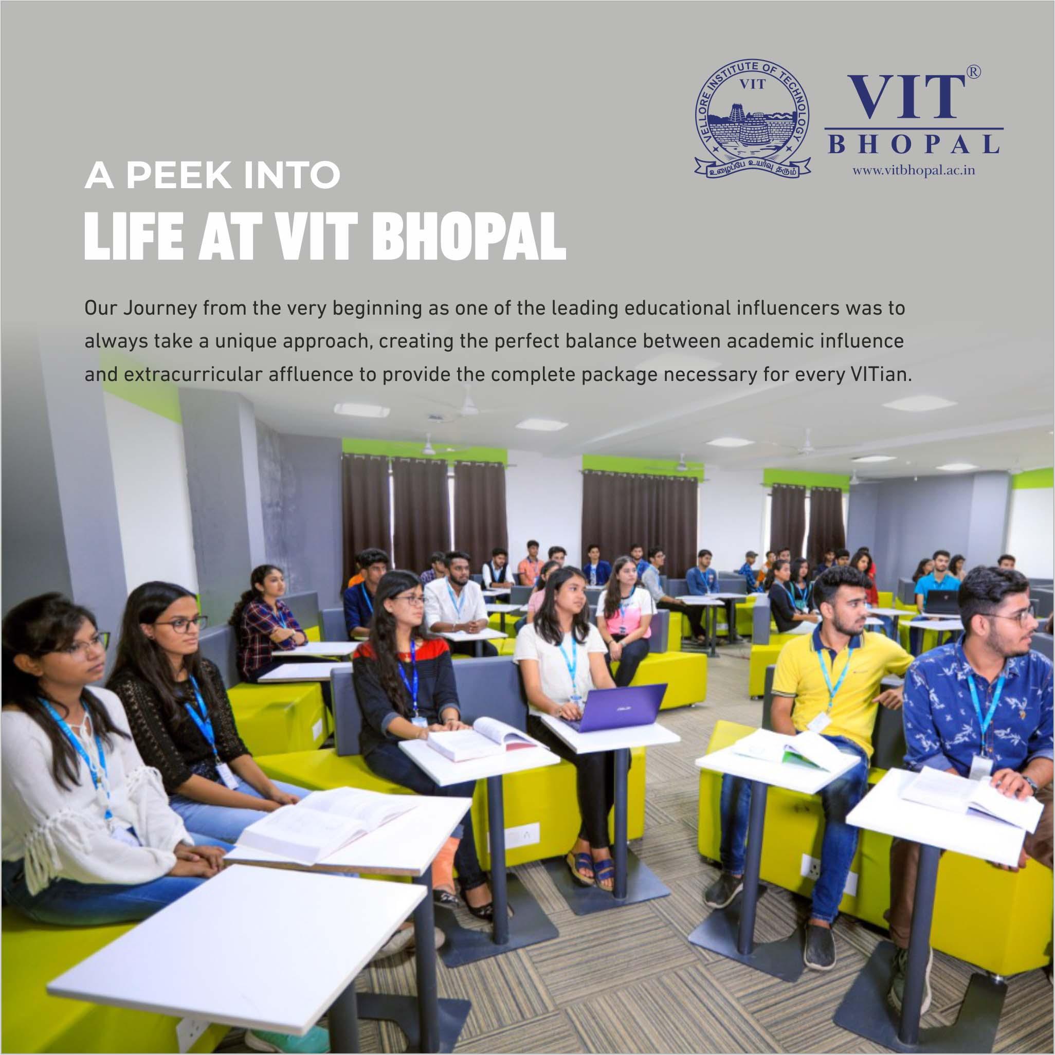 VIT Bhopal  - Best University in Central India -  lifeatbhopal