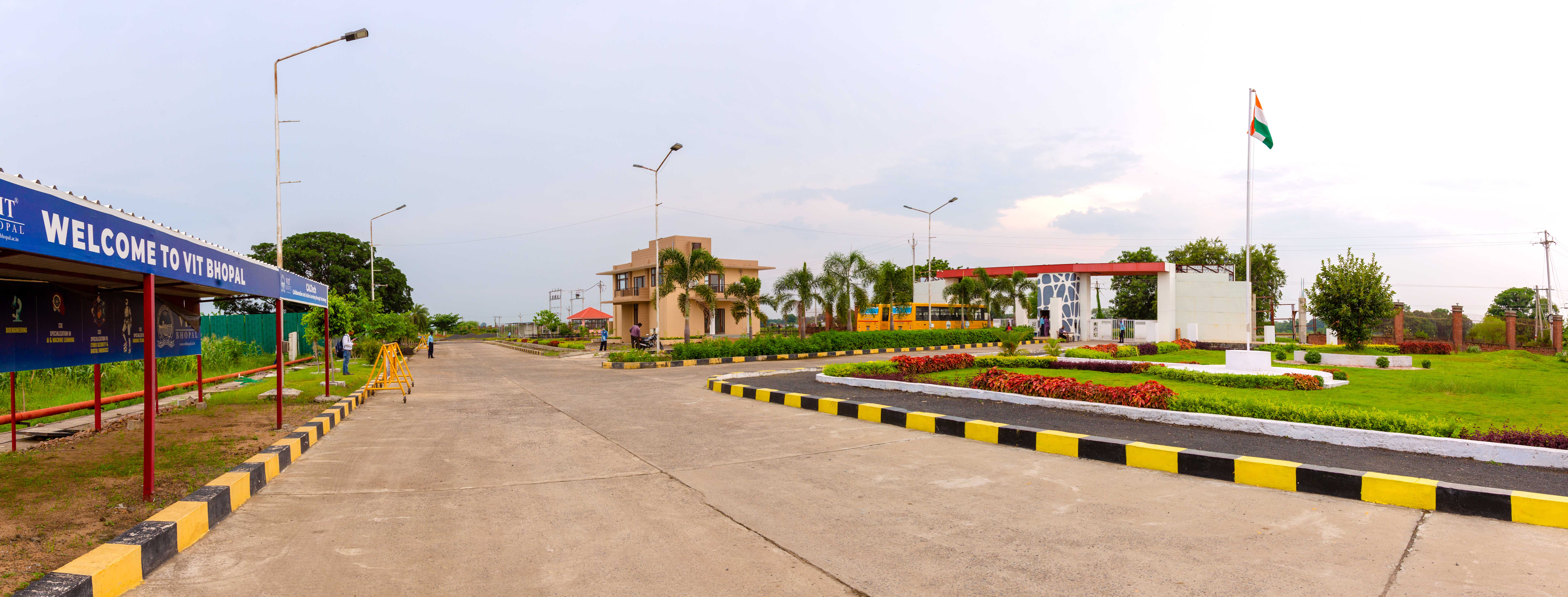 VIT Bhopal  - Best University in Central India -  entrance-view-inside-2