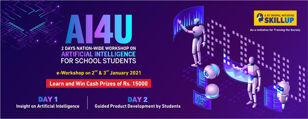 VIT Bhopal  - Best University in Central India -  AI4U-Web-Banner
