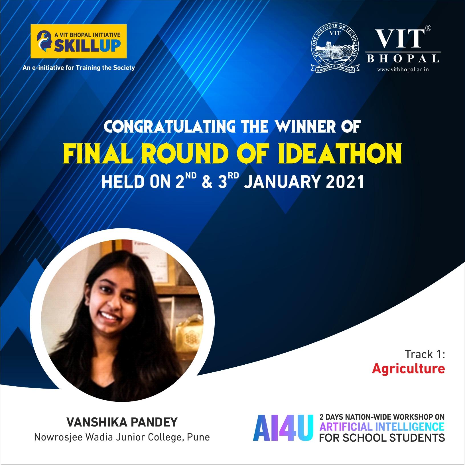 VIT Bhopal  - Best University in Central India -  AI4U-Winners-Post1