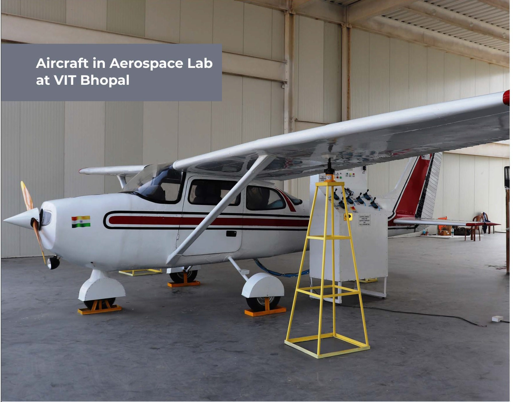 VIT Bhopal  - Best University in Central India -  aircraft