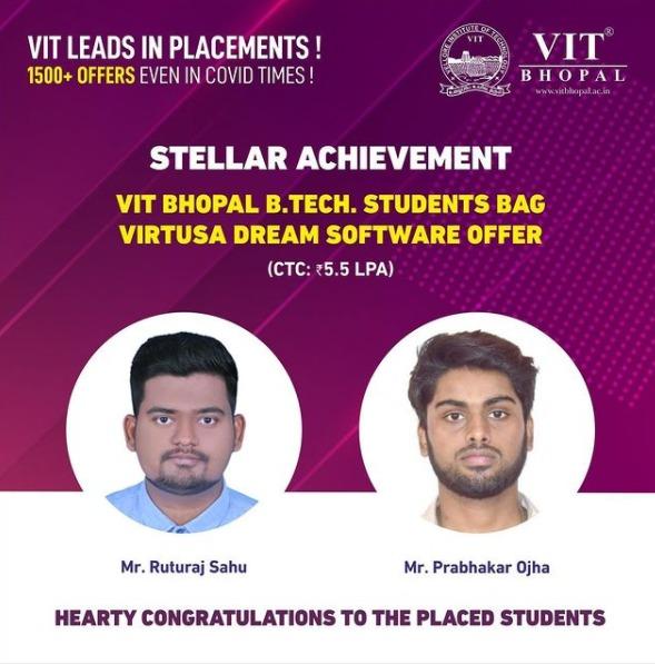 VIT Bhopal  - Best University in Central India -  Virtusa