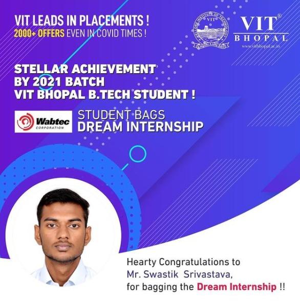 VIT Bhopal  - Best University in Central India -  Wabtec