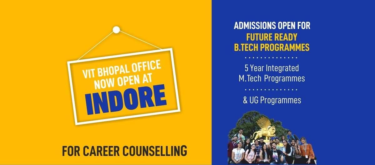 VIT Bhopal  - Best University in Central India -  indorec