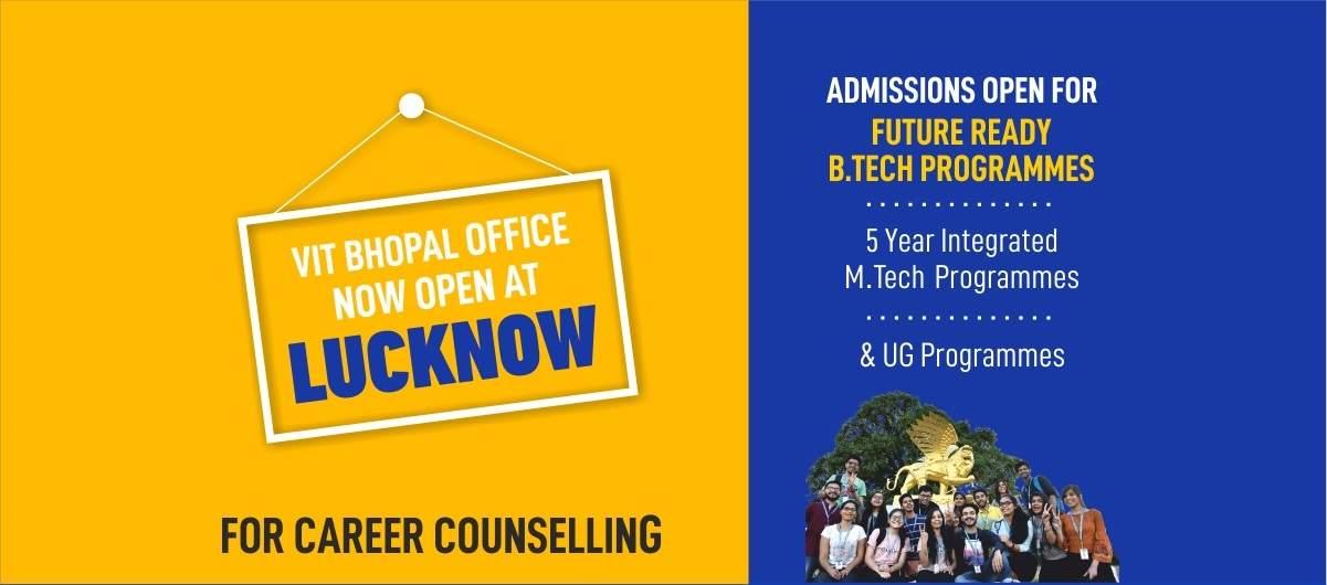 VIT Bhopal  - Best University in Central India -  lucknowc