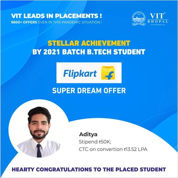 VIT Bhopal  - Best University in Central India -  sd10