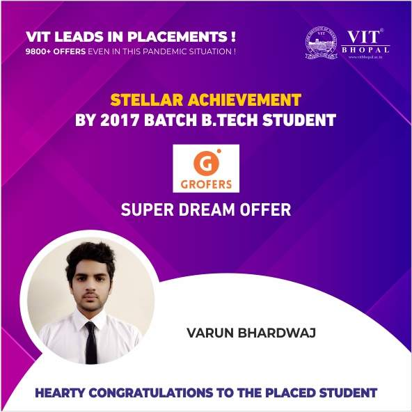 VIT Bhopal  - Best University in Central India -  sd15