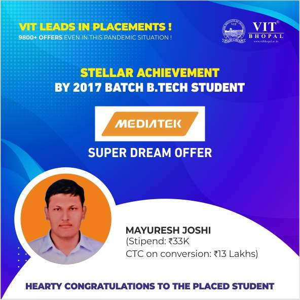 VIT Bhopal  - Best University in Central India -  sd5