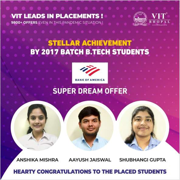 VIT Bhopal  - Best University in Central India -  sd7