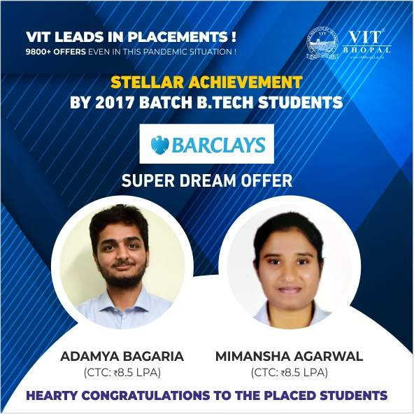 VIT Bhopal  - Best University in Central India -  sd9