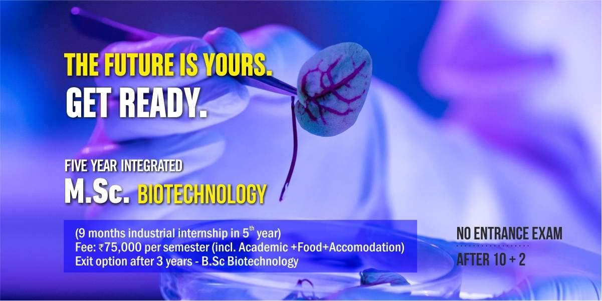 VIT Bhopal  - Best University in Central India -  MSc-Biotech
